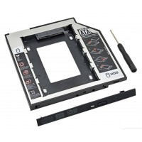 """9.5mm HDD Caddy 2.5"""" SSD CD DVD to HDD Case"""