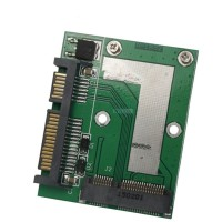 Mini PCI-E mSATA SSD to 2.5 Inch SATA III 6Gbps Adapter Converter Card Module Board