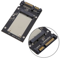 "S101 Model mSATA SSD To 2.5"" SATA Adapter Converter Card"